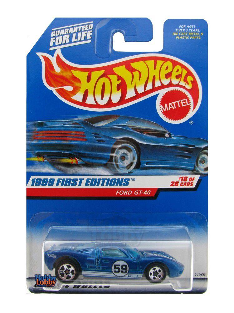 Hot Wheels - Coleção 1999 - Ford GT-40