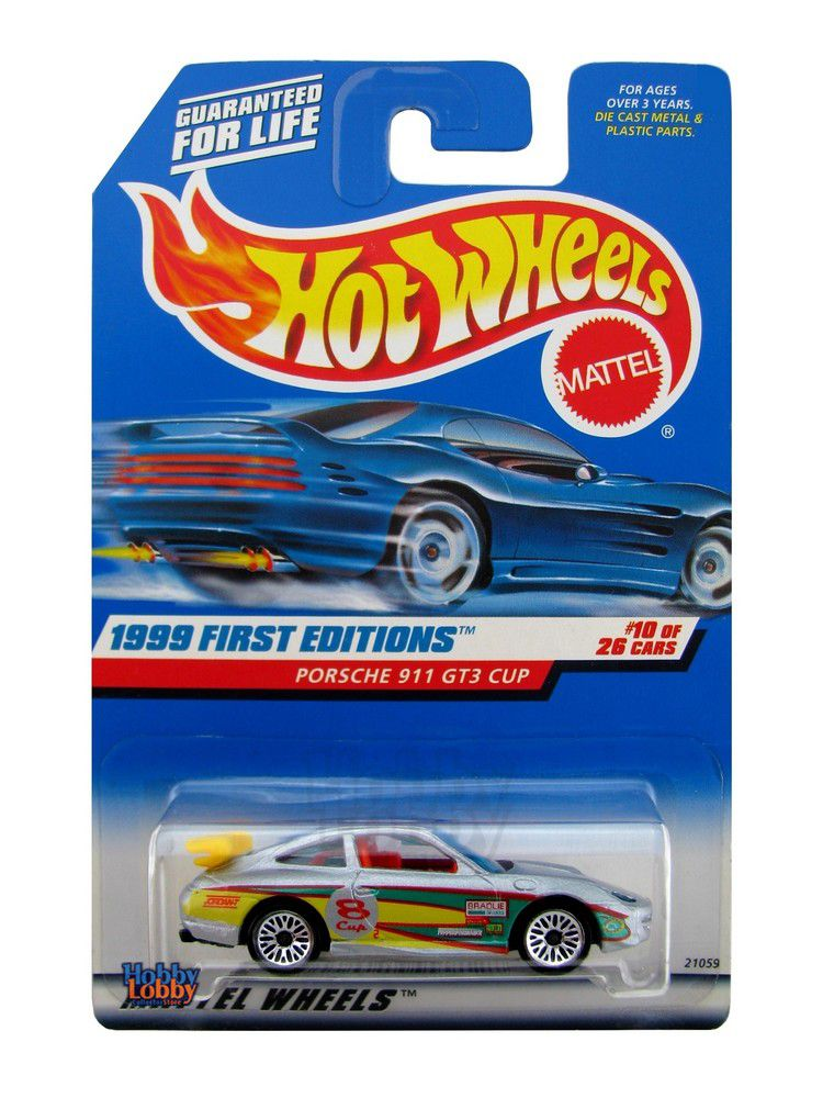 Hot Wheels - Coleção 1999 - Porsche 911 GT3 Cup
