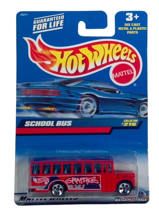 Hot Wheels - Coleção 1999 - School Bus  - Hobby Lobby CollectorStore