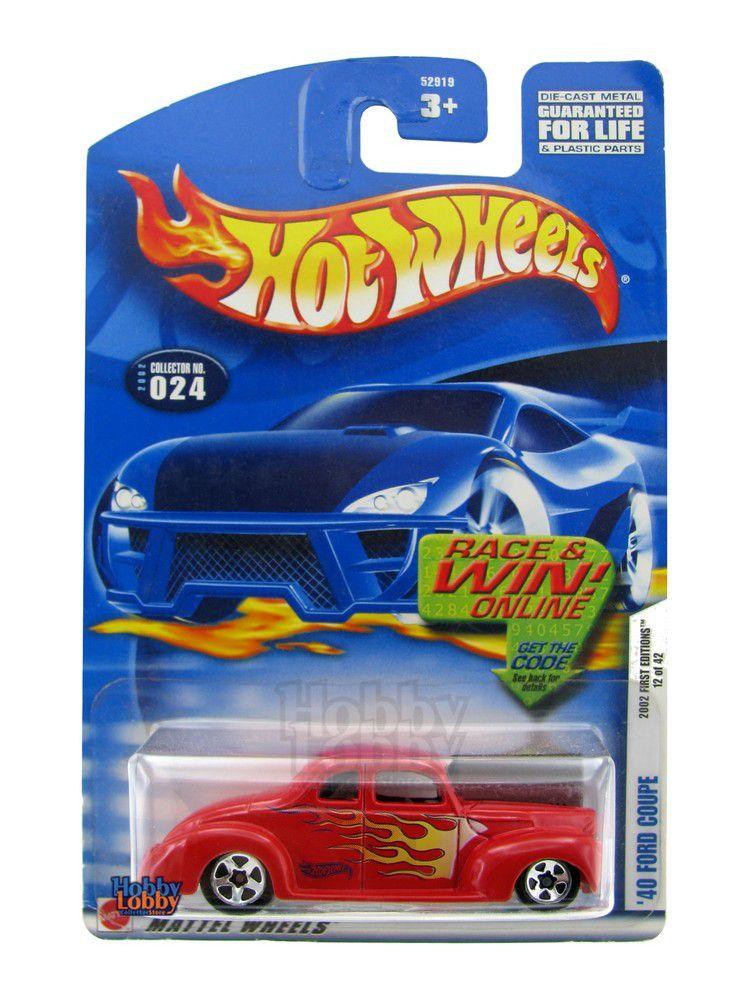 Hot Wheels - Coleção 2002 - ´40 Ford Coupe