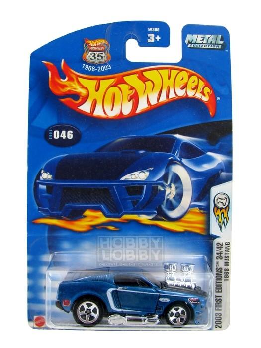 Hot Wheels - Coleção 2003 - 1968 Mustang