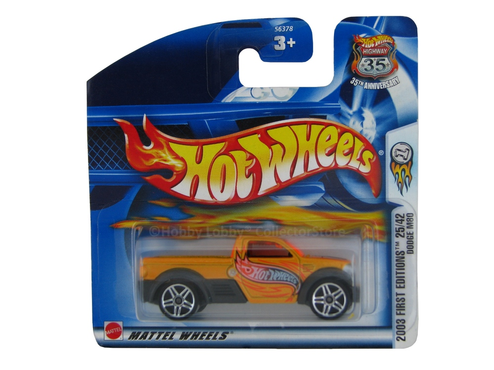 Hot Wheels - Coleção 2003 - Dodge M80  - Hobby Lobby CollectorStore