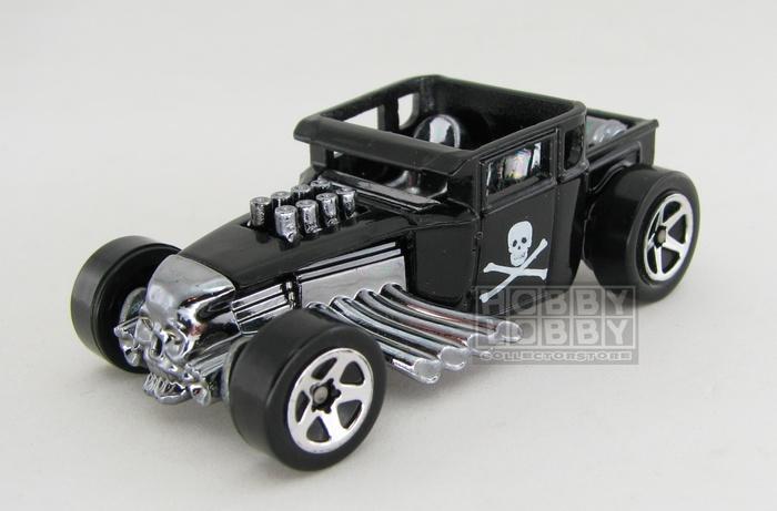 Hot Wheels - Coleção 2007 - Bone Shaker (loose)
