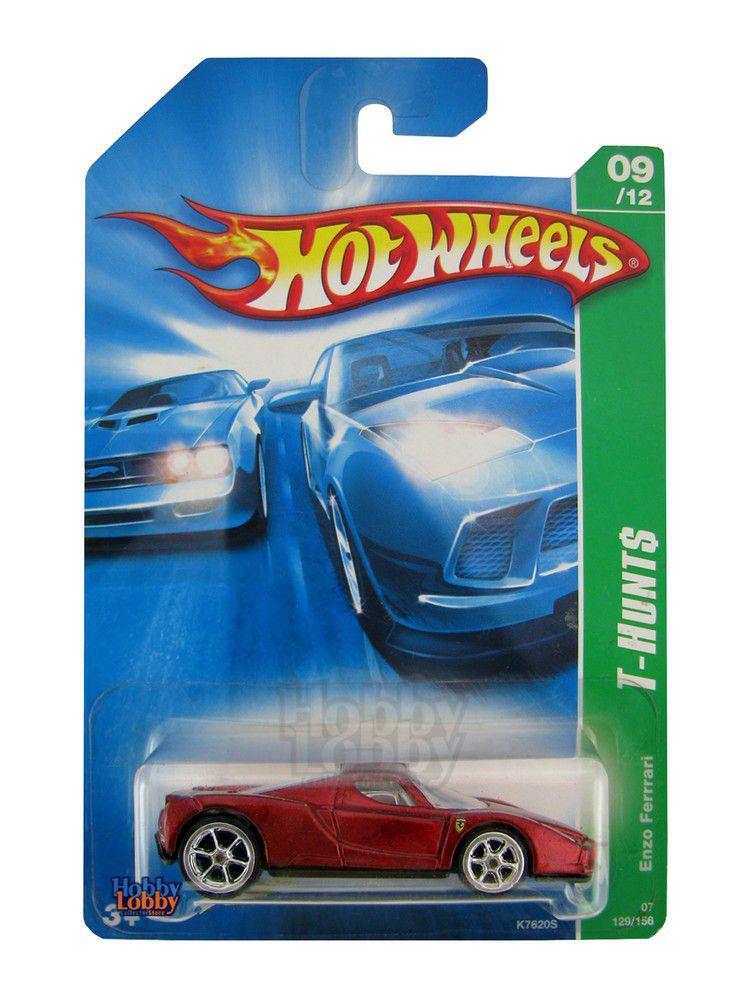 Hot Wheels - Coleção 2007 - Enzo Ferrari T-hunt Series