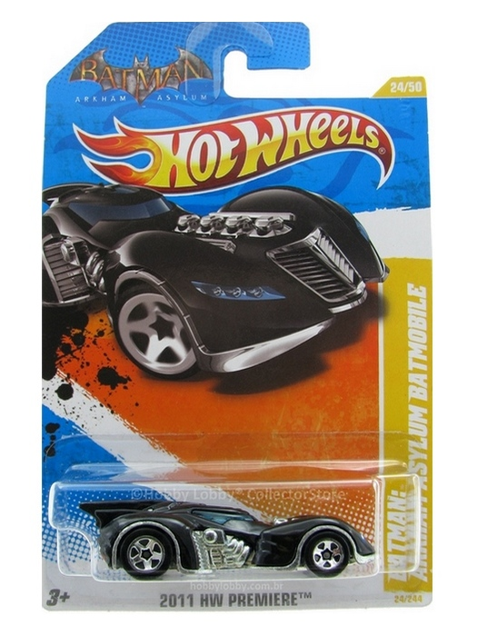Hot Wheels - Coleção 2011 - Batman Arkham Asylum Batmobile