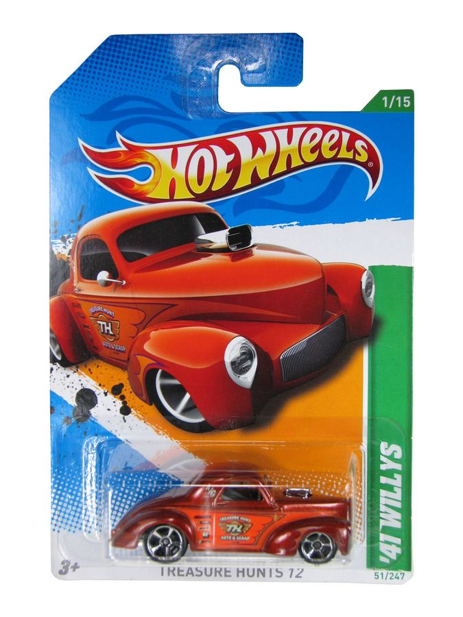 Hot Wheels - Coleção 2012 - ´41 Willys  - Hobby Lobby CollectorStore