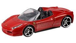 Hot Wheels - Coleção 2012 - Ferrari 458 Spider
