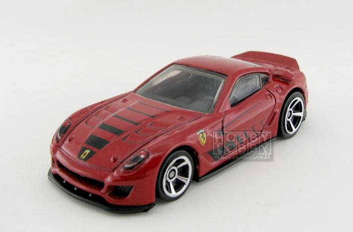 Hot Wheels - Coleção 2012 - Ferrari 599XX (loose)