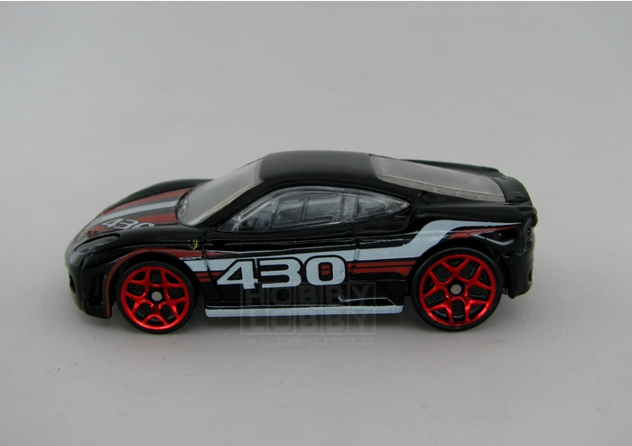 Hot Wheels - Coleção 2012 - Ferrari F430 Challenge (loose)  - Hobby Lobby CollectorStore