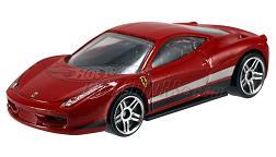 Hot Wheels - Coleção 2012 - Ferrari Italia (vermelha)
