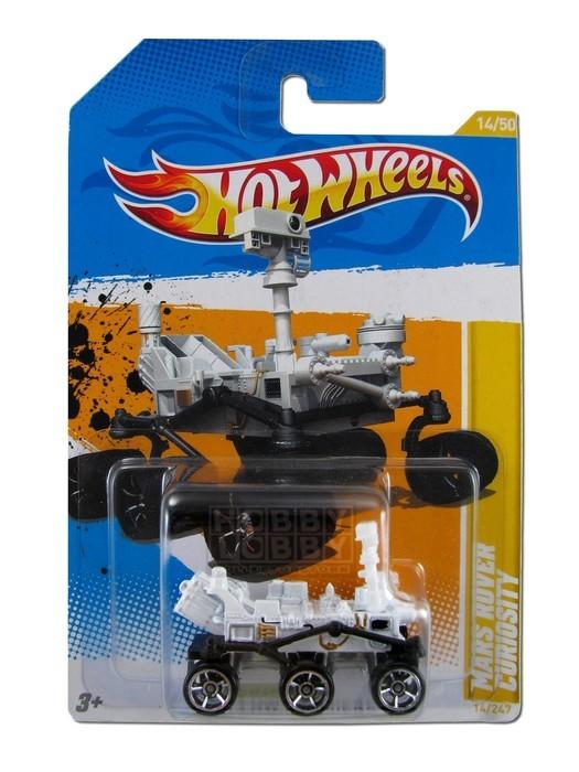 Hot Wheels - Coleção 2012 - Mars Rover Curiosity