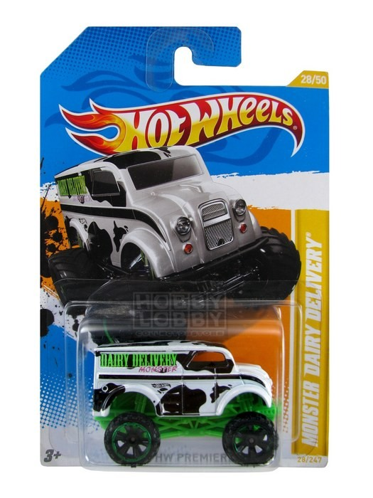 Hot Wheels - Coleção 2012 - Monster Dairy Delivery