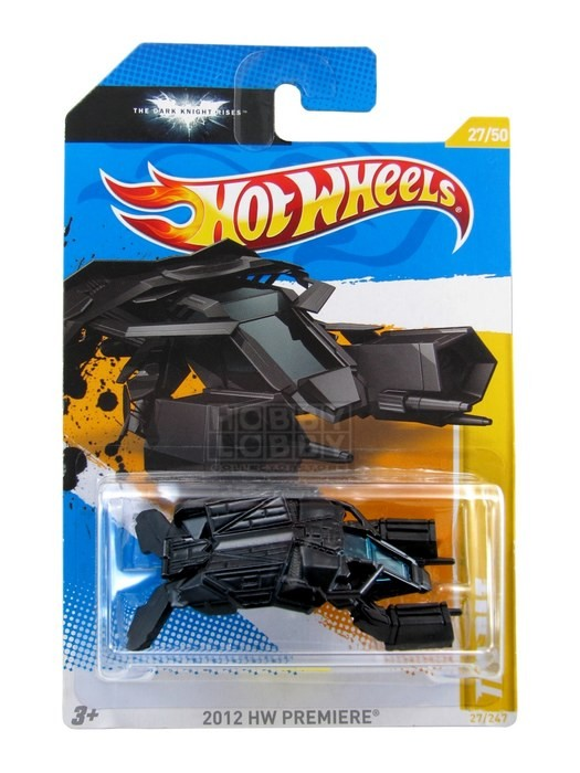 Hot Wheels - Coleção 2012 - The Bat  - Hobby Lobby CollectorStore