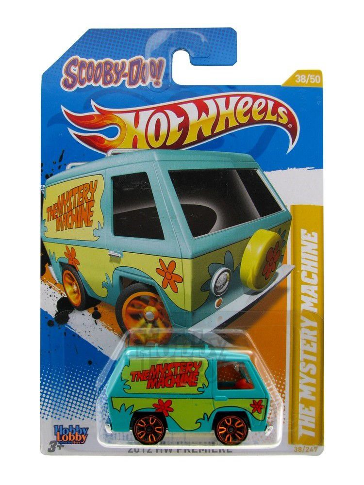 Hot Wheels - Coleção 2012 - The Mystery Machine - Scooby-Doo