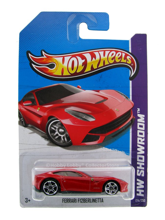 Hot Wheels - Coleção 2013 - Ferrari F12 Berlinetta