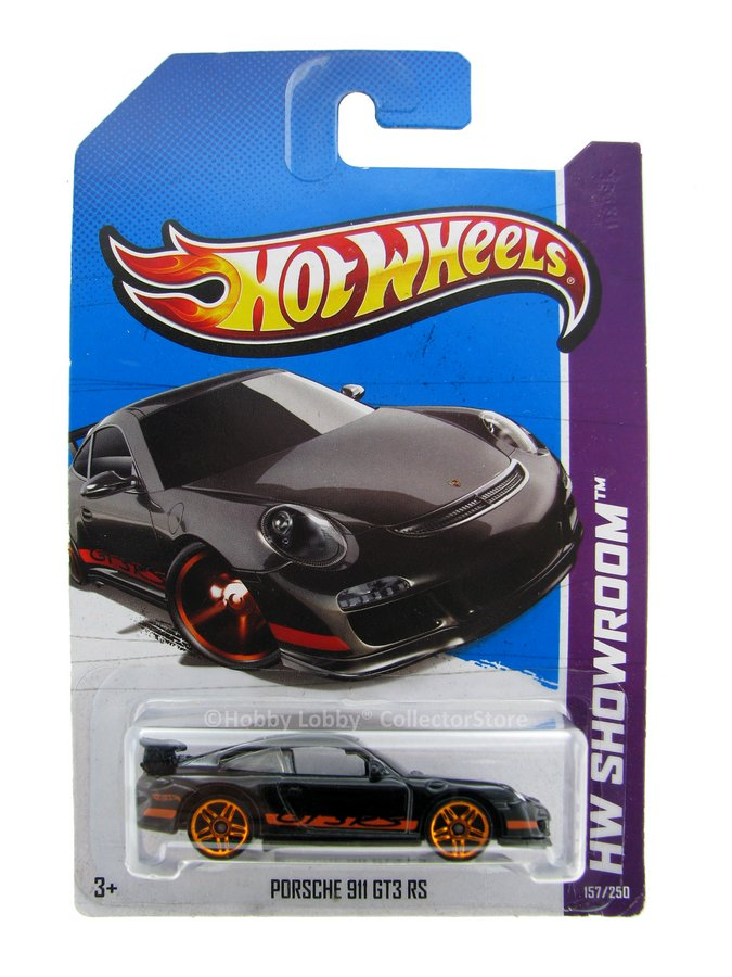 Hot Wheels - Coleção 2013 - Porsche 911 GT3 RS  - Hobby Lobby CollectorStore