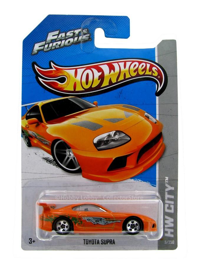 Hot Wheels - Coleção 2013 - Toyota Supra - Velozes & Furiosos