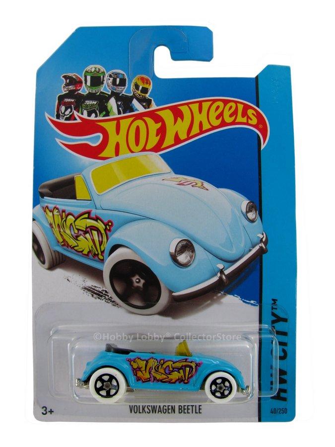 Hot Wheels - Coleção 2013 - Volkswagen Beetle (azul)
