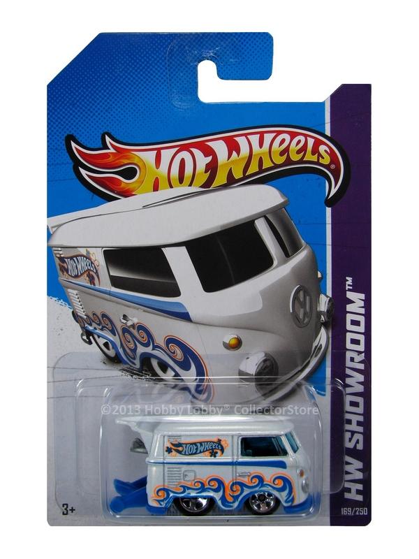 Hot Wheels - Coleção 2013 - Volkswagen Kool Kombi [branca]
