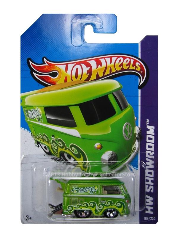 Hot Wheels - Coleção 2013 - Volkswagen Kool Kombi [verde]