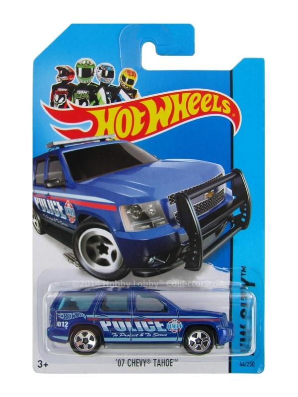 Hot Wheels - Coleção 2014 -  `07 Chevy Tahoe