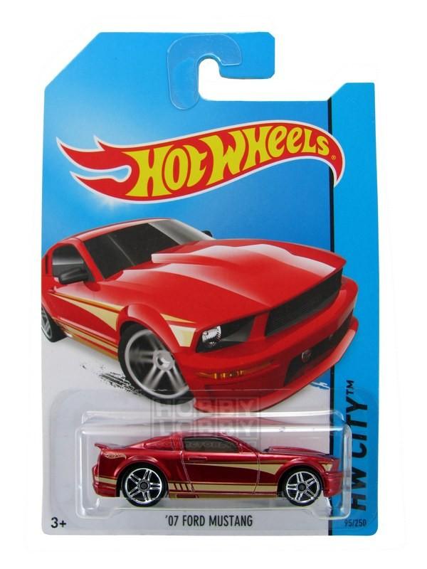 Hot Wheels - Coleção 2014 - `07 Ford Mustang