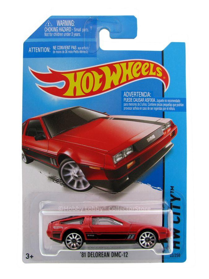 Hot Wheels - Coleção 2014 - ´81 Delorean DMC-12