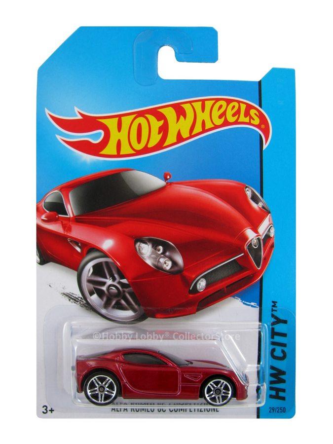 Hot Wheels - Coleção 2014 - Alfa Romeo 8C Competizione  - Hobby Lobby CollectorStore