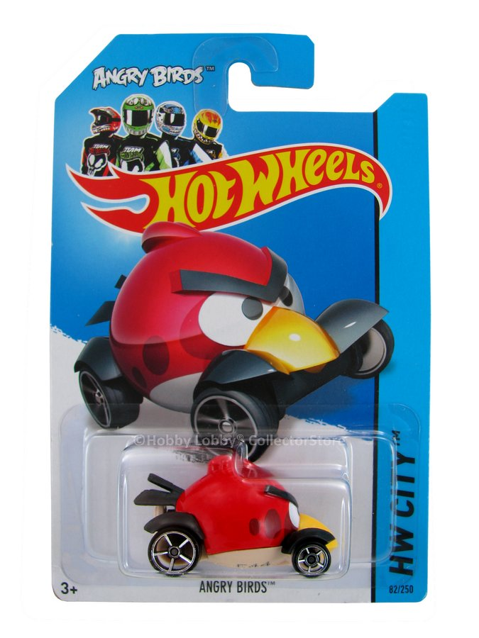 Hot Wheels - Coleção 2014 - ANGRY BIRDS - RED BIRD