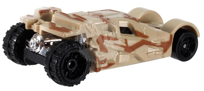 Hot Wheels - Coleção 2014  -  Batman - The Tumbler - Camouflage Version  - Hobby Lobby CollectorStore