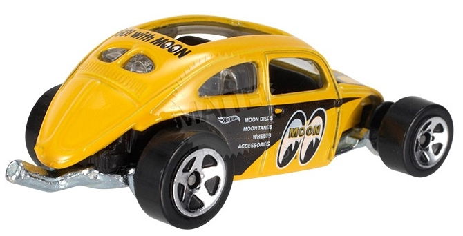 Hot Wheels - Coleção 2014 - Custom Volkswagen Beetle (Mooneyes) - Hobby Lobby CollectorStore