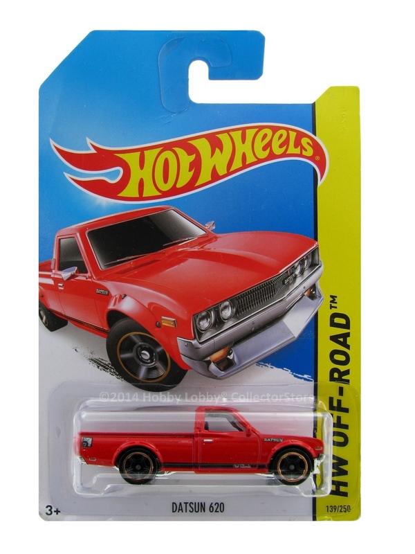 Hot Wheels - Coleção 2014 - Datsun 620