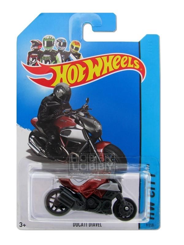 Hot Wheels - Coleção 2013 - Ducati Diavel [Repintura]