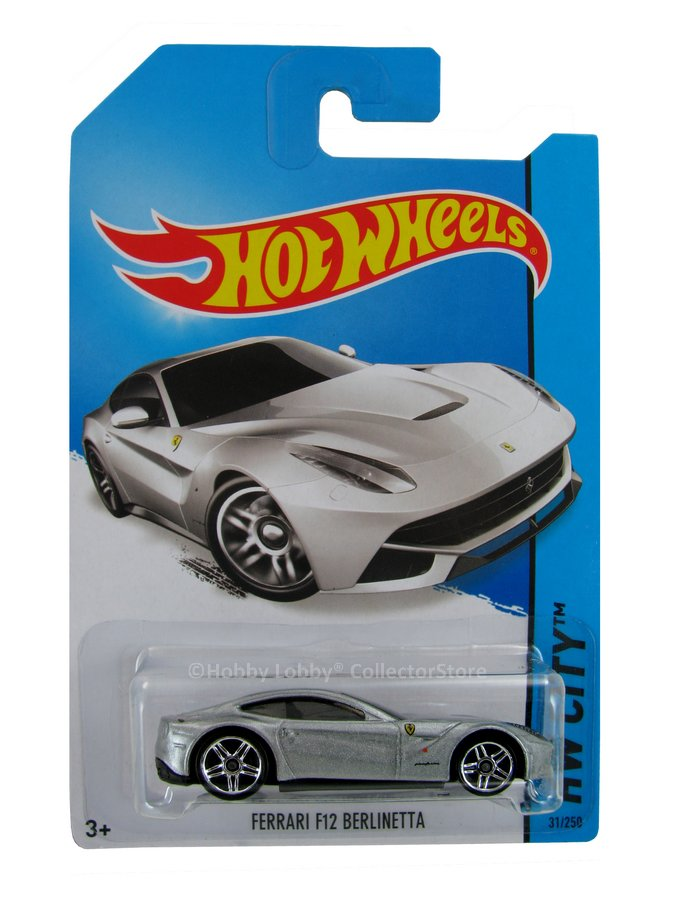 Hot Wheels - Coleção 2014 - Ferrari F12 Berlinetta  - Hobby Lobby CollectorStore