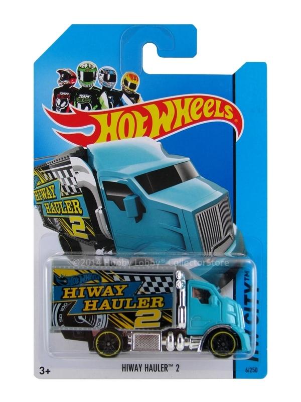 Hot Wheels - Coleção 2014 - Hiway Hauler 2 [Azul]