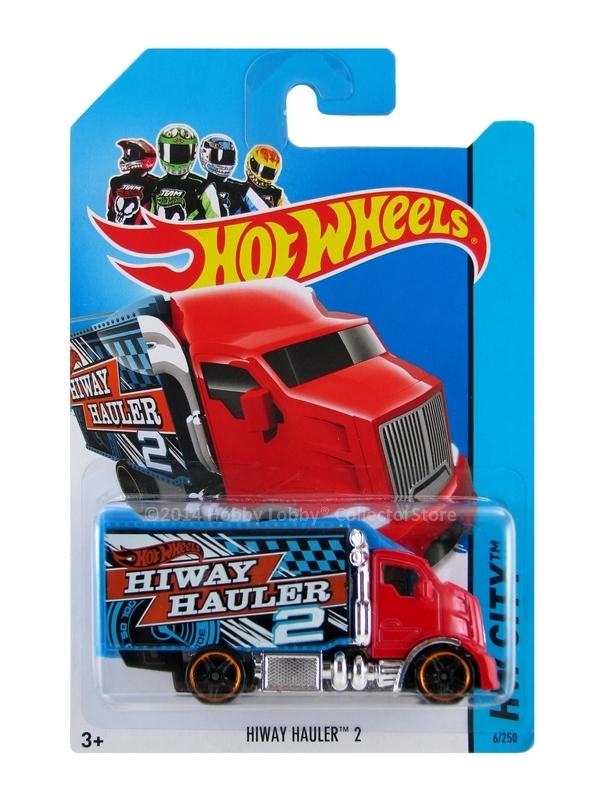 Hot Wheels - Coleção 2014 - Hiway Hauler 2 [Vermelho]