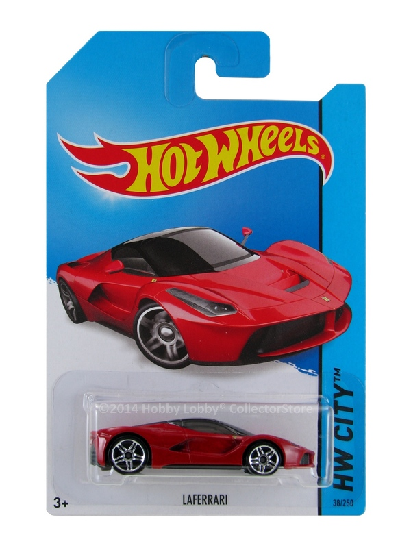 Hot Wheels - Coleção 2014  - LaFerrari  - Hobby Lobby CollectorStore