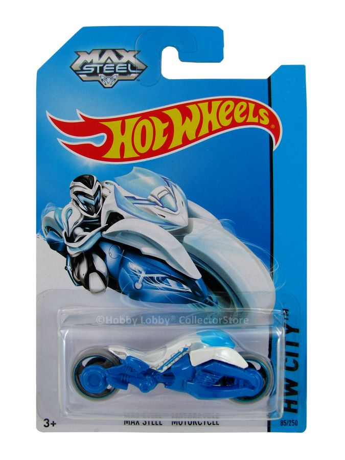 Hot Wheels - Coleção 2014 - Max Steel - Motorcycle