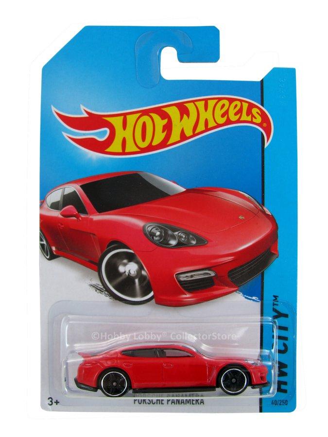 Hot Wheels - Coleção 2014 - Porsche Panamera