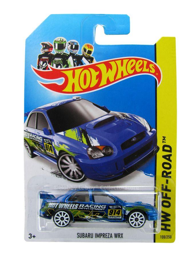 Hot Wheels - Coleção 2014 - Subaru Impreza WRX