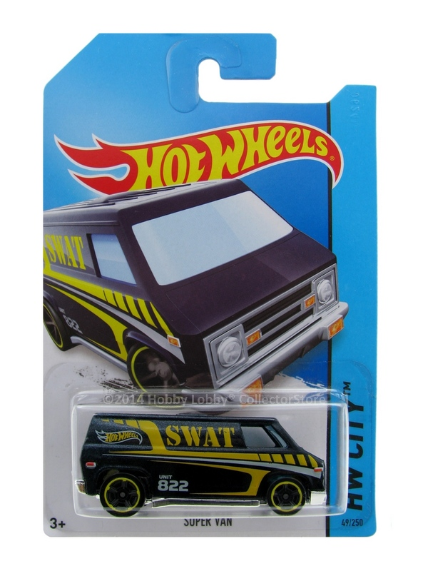 Hot Wheels - Coleção 2014 - Super Van (SWAT)  - Hobby Lobby CollectorStore