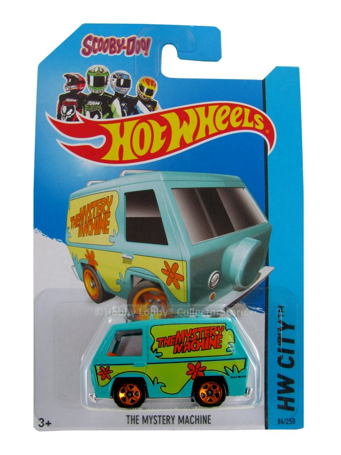Hot Wheels - Coleção 2014 - The Mystery Machine (Fake - cartela com erro)