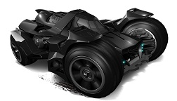Hot Wheels - Coleção 2015 - Batman Arkham Knight Batmobile  - Hobby Lobby CollectorStore