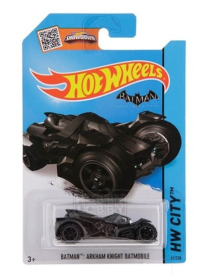 Hot Wheels - Coleção 2015 - Batman Arkham Knight Batmobile