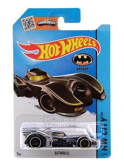Hot Wheels - Coleção 2015 - Batmobile (1989)  - Hobby Lobby CollectorStore