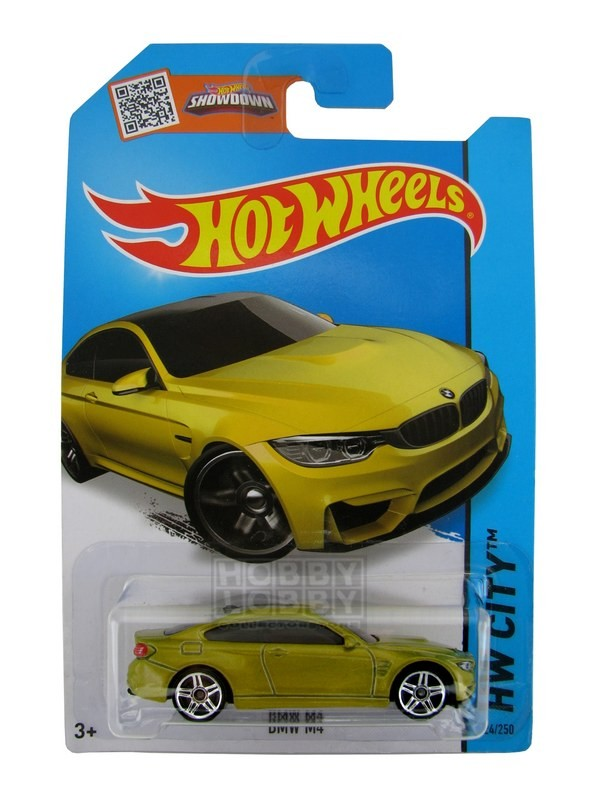 Hot Wheels - Coleção 2015 - BMW M4  - Hobby Lobby CollectorStore