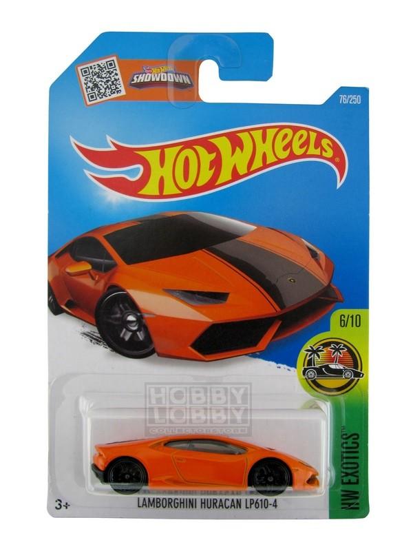 Hot Wheels - Coleção 2016 - Lamborghini Huracán LP 610-4