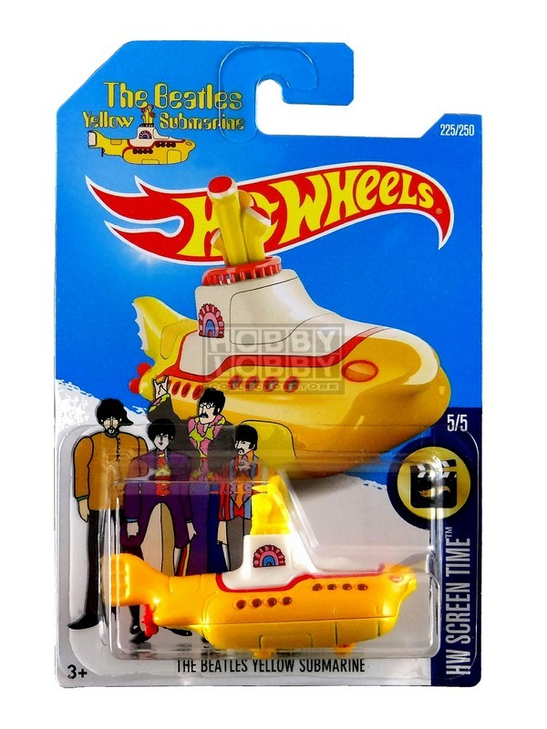 Hot Wheels - Coleção 2016 - The Beatles Yellow Submarine