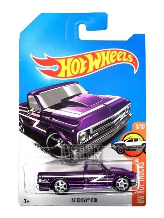 Hot Wheels - Coleção 2017 - ´67 Chevy C10   [Superized]