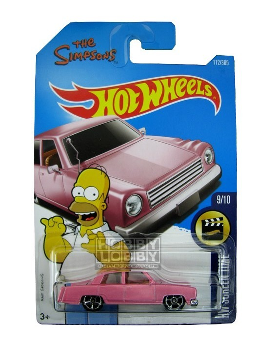 Hot Wheels - Coleção 2017 - The Simpsons Family Car